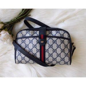 Gucci GG Monogram Web Shoulder Bag
